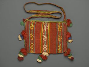 Chuspas - Chuspas,Bag for Carrying Coca Leaves, 20th Century, Brooklyn Museum