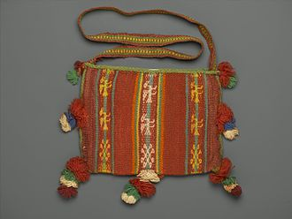 Chuspas - Chuspas,Bag for Carrying Coca Leaves, 20th Century, Brooklyn Museum