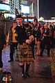 Bagpiper, New Years Eve, Las Vegas Strip (8287219452).jpg