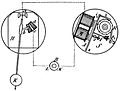 Bain's sympathetic clock, Otto's Encyclopedia.jpg