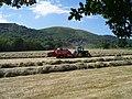 Baling Hay near Mayall's Coppice - geograph.org.uk - 184481.jpg