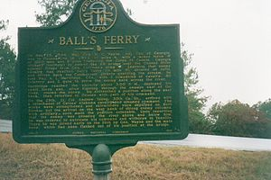 Ball's Ferry Landing has been designated as a site on the March to the Sea Heritage Trail.