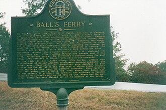 Wilkinson County, Georgia - Image: Ball's Ferry, Wilkinson County, Georgia