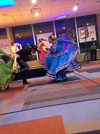 Jarabe Tapatío - Ballet Folklorico Aztlan dancing Jarabe Tapatio in Ottawa , Canada
