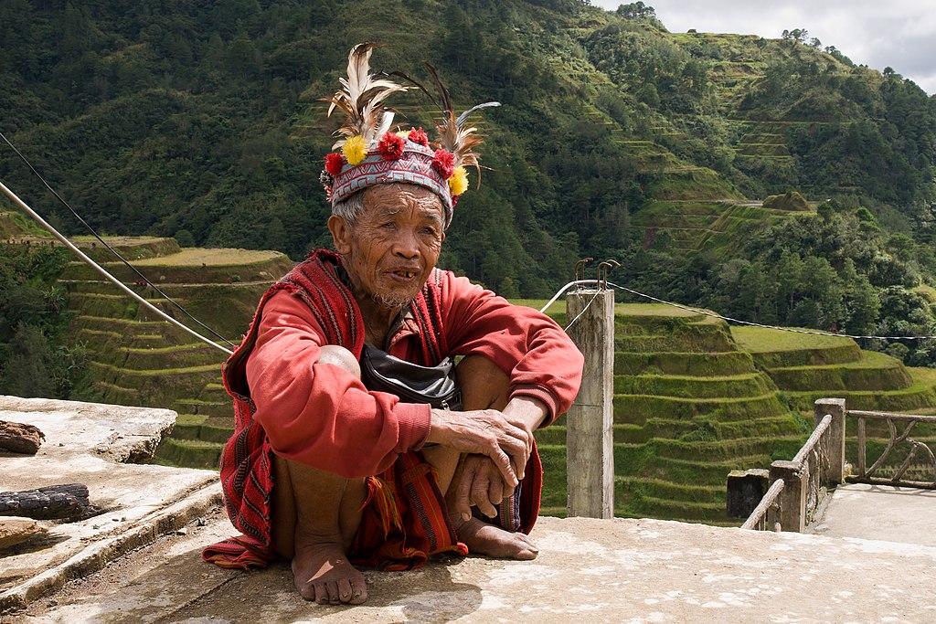 Banaue Philippines Ifugao-Tribesman-01