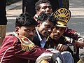 Bandmembers on Street - Maidan - Kolkata - India (12249377113).jpg