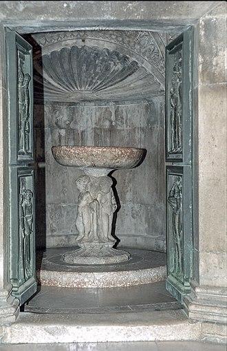 Šibenik Cathedral - the Baptistery