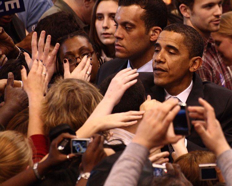File:Barack Obama and supporters, February 4, 2008.jpg