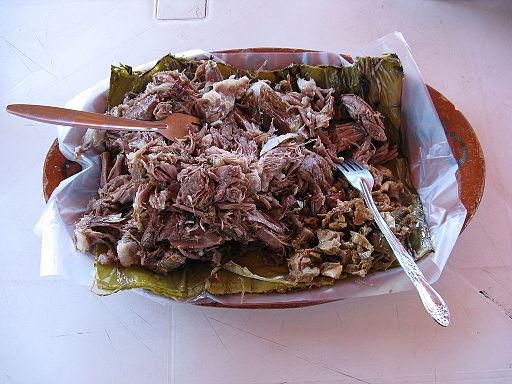 Barbacoa (en Hidalgo)