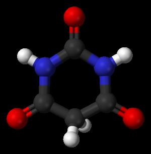 Barbituric acid - Image: Barbituric acid 3D balls
