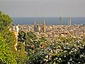 Barcelona des del Parc Güell, Sagrada Família.jpg