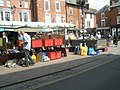 Bargains to be had at Ludlow Market (1) - geograph.org.uk - 1466022.jpg