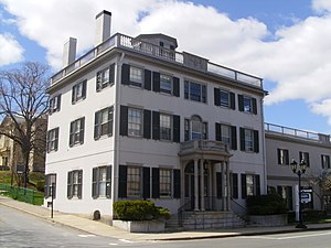 National Register of Historic Places listings in Plymouth County, Massachusetts - Image: Bartlett Russell Hedge House, Plymouth, MA