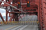 File:Bascule lift span opening on Portland's Broadway Bridge - looking southwest across roadway, 2013.jpg