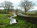 Bashall Brook and the road to Clitheroe.jpg
