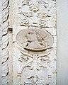 Basilica di Santa Maria delle Grazie portale medaglione Brescia.jpg