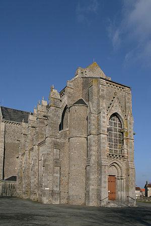La Chapelle-Saint-Laurent - The church in La Chapelle-Saint-Laurent