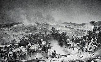 Battle of Cardedeu - Battle of Cardedeu, 16 December 1808, by Jean-Charles Langlois.