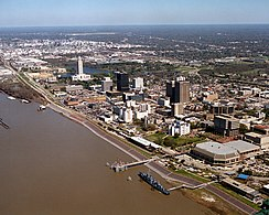 skyline of Baton Rouge