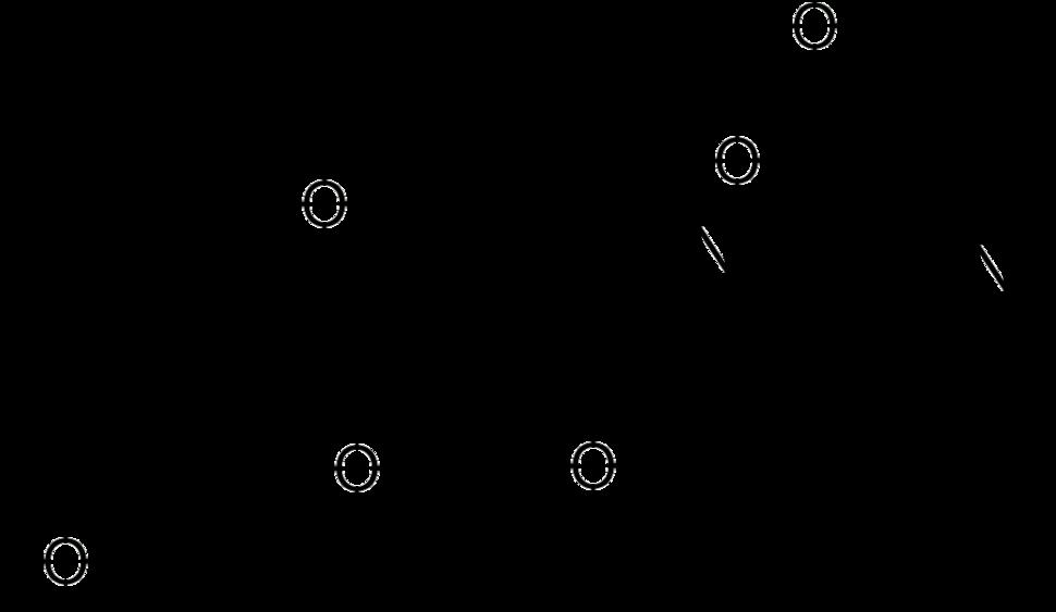 Skeletal formula of batrachotoxin