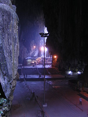 Batu Caves - Interior of Batu Caves