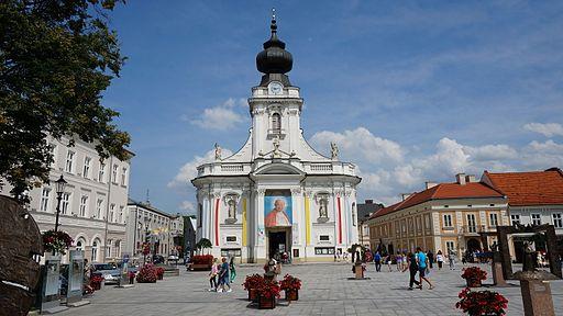 Bazylika Ofiarowania Najświętszej Maryi Panny w Wadowicach.