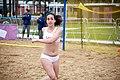 Beach handball at the 2018 Summer Youth Olympics – Girls Consolation Round – MRI-TUR 052.jpg