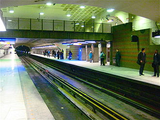 Beaubien station - Image: Beaubien Metro Station