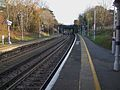 Beckenham Hill stn look south2.JPG