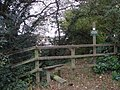 Beginning of footpath between Furzy Cottage and Pounds Farm - geograph.org.uk - 583634.jpg
