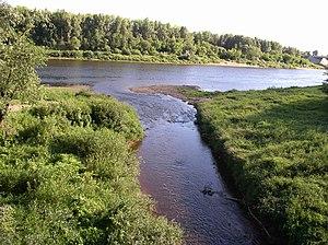 Palata River - Junction of Western Dvina and Palata Rivers