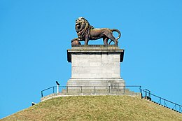 "Waterloo: the ""Butte du Lion"" commemorating the Battle"