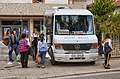 Belsh, Albania 2018 17 Bus service.jpg