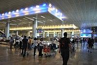 Ben Gurion Airport arriving zone.JPG