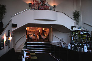 The Rex, Berkhamsted - The original entrance foyer, now The Gatsby bar and restaurant