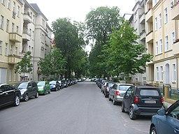Glanzstraße in Berlin