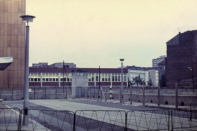 Berlin Wall from the East