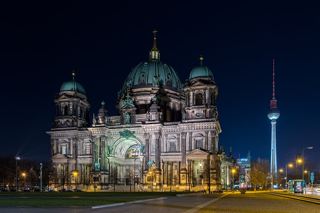 Berliner dom, cathédrale protestante de Berlin. Photo de Ansgar Koreng.