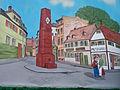Bernemer Kerb Festzug Bild auf Kerbewagen 13082011.JPG