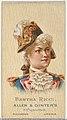 Bertha Ricci, from World's Beauties, Series 2 (N27) for Allen & Ginter Cigarettes MET DP838133.jpg