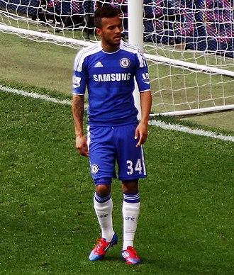 Ryan Bertrand - Bertrand playing for Chelsea in 2012