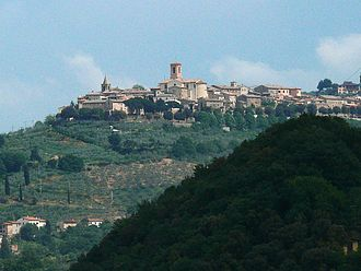 Bettona - View of Bettona.