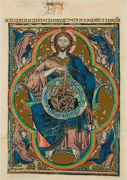 File:Bible moralisée de Tolède - Dieu pantocrator.jpg