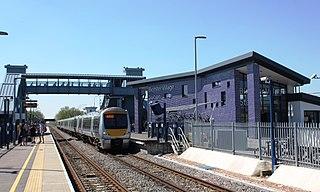 Bicester Village railway station Railway station in Oxfordshire, England