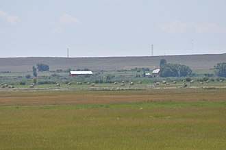 National Register of Historic Places listings in Sublette County, Wyoming - Image: Big Piney WY Circle Ranch 2