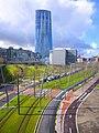 Bilbao - Parque República de Abando y Torre Iberdrola.jpg