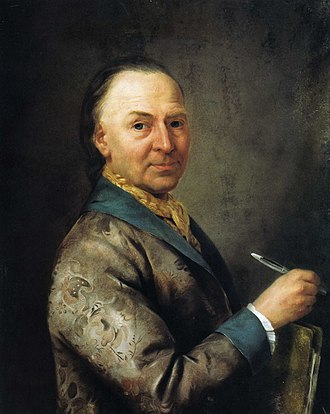 Bernhard Rode - Bernhard Rode, painted by his contemporary Henriette-Félicité Tassaert.