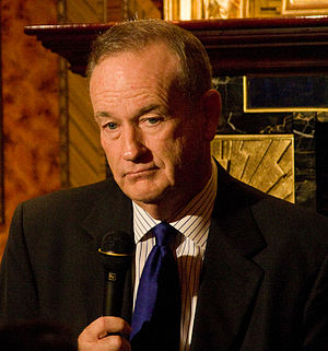 Bill O'Reilly at a Hudson Union Society event ...