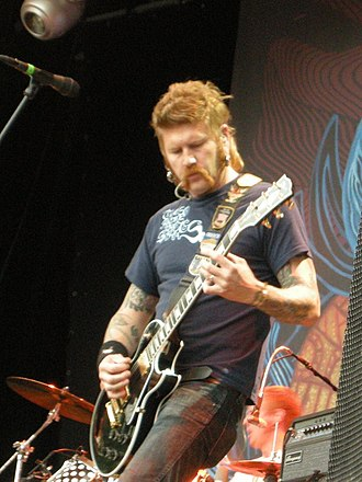 Mastodon (band) - Bill Kelliher live at Sonisphere Festival in 2009