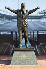 Bill Shankly statue, Anfield 2018.jpg